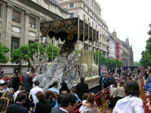 Carrera oficial de Semana Santa en Sevilla