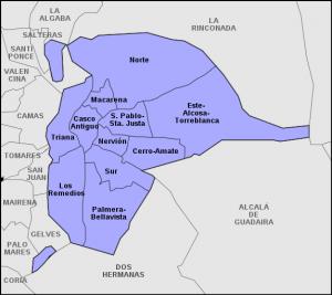 Distritos de Sevilla