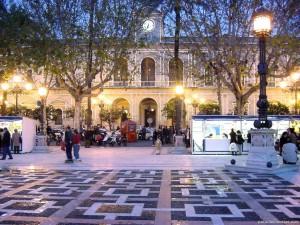 Invierno en Sevilla.