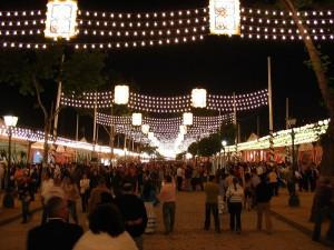 Feria de Abril - <a href='http://en.wikipedia.org/wiki/File:Street_in_the_Seville_Fair.jpg' target='_blank' rel='nofollow'></a>