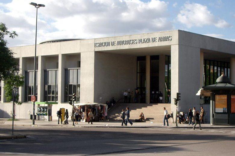 Estacion de autobuses Plaza de Armas