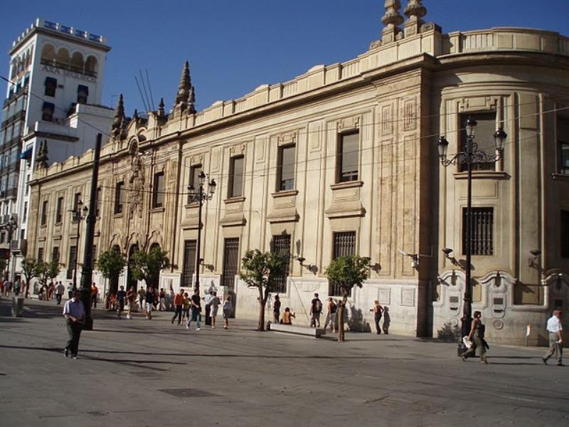 Oficina principal de Correo en Sevilla