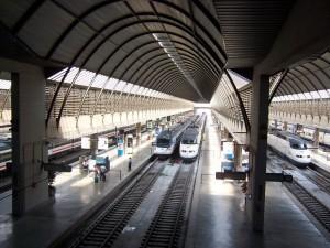 Estación de trenes de Santa Justa