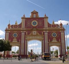 Portada de la Feria de Sevilla 2012