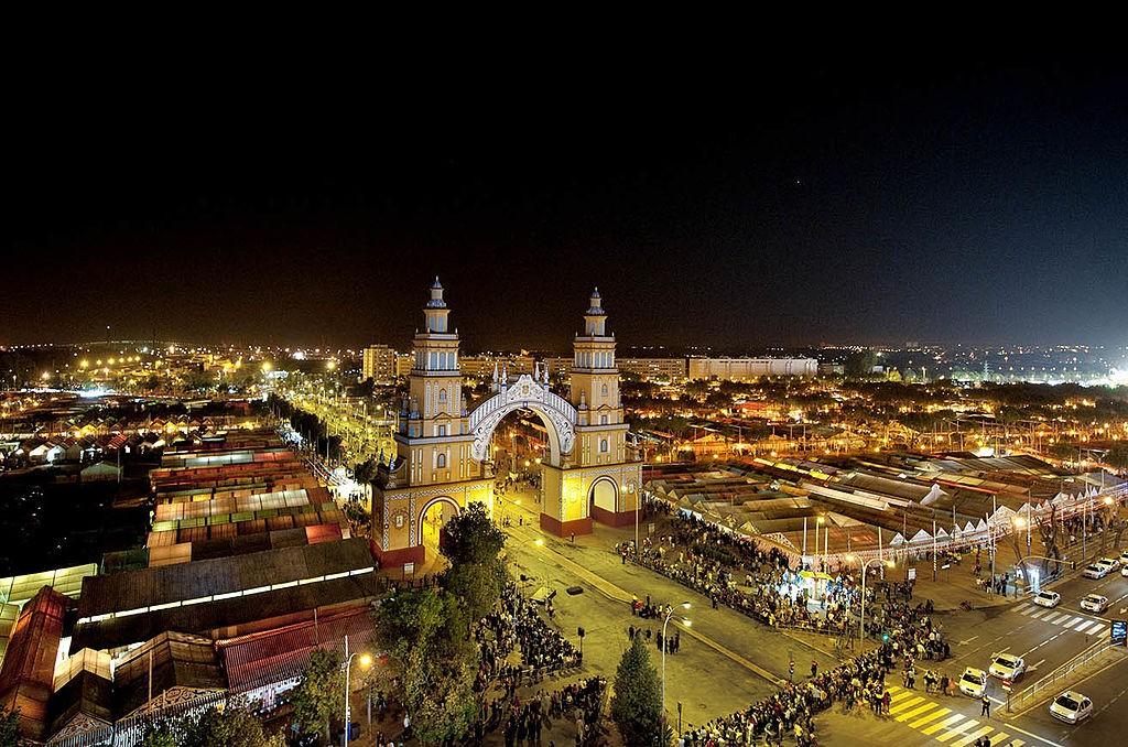 celebracion-por-la-feria-de-abril-en-Sevilla