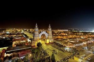 Celebración por la feria de abril en Sevilla.