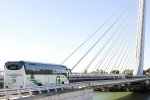 Autobuses de la empresa Casal