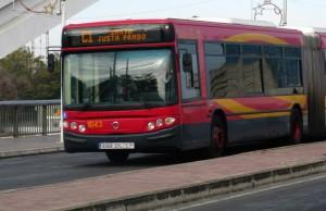 Líneas y compañías de autobuses en Sevilla