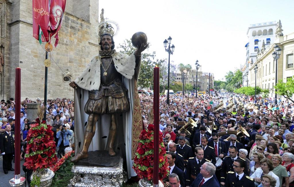 SEV07 procesion  del Corpus Christi en Sevilla.Diario de Sevila/MANUEL GOMEZ