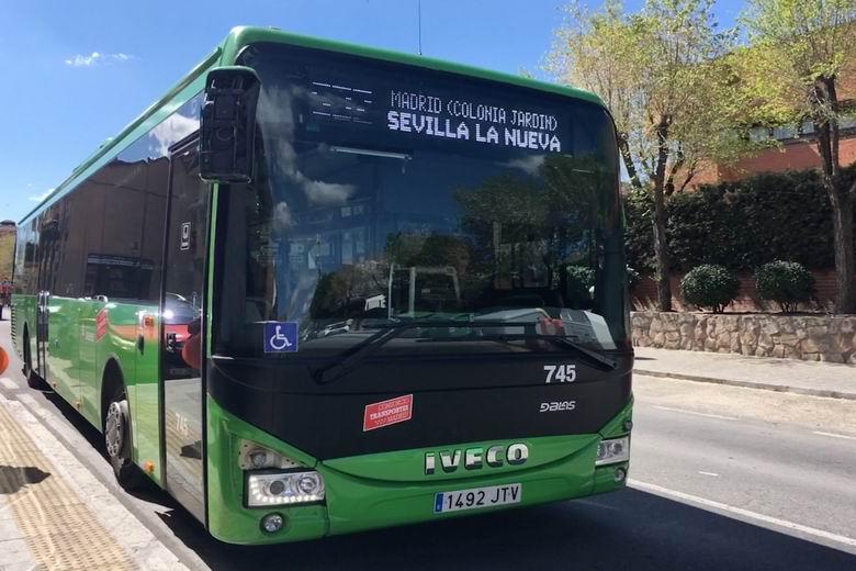 Bus de Madrid a Sevilla